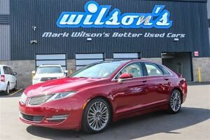 2013 Lincoln MKZ AWD! LEATHER! NAVIGATION! PANO SUNROOF! BLIND S