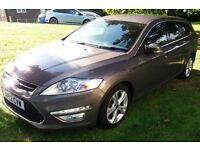 FORD MONDEO 1.6 TDCI ECO ESTATE TITANIUM X 2012. MOT MAY 2017, FULL FORD SERVICE HISTORY
