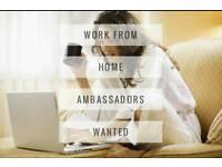 Full or part time ambassadors