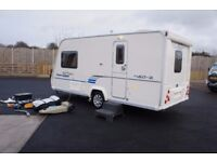 2009 BAILEY RANGER GT60 460/2 SERIES 6 2-BERTH LOTS OF EXTRAS INCLUDED