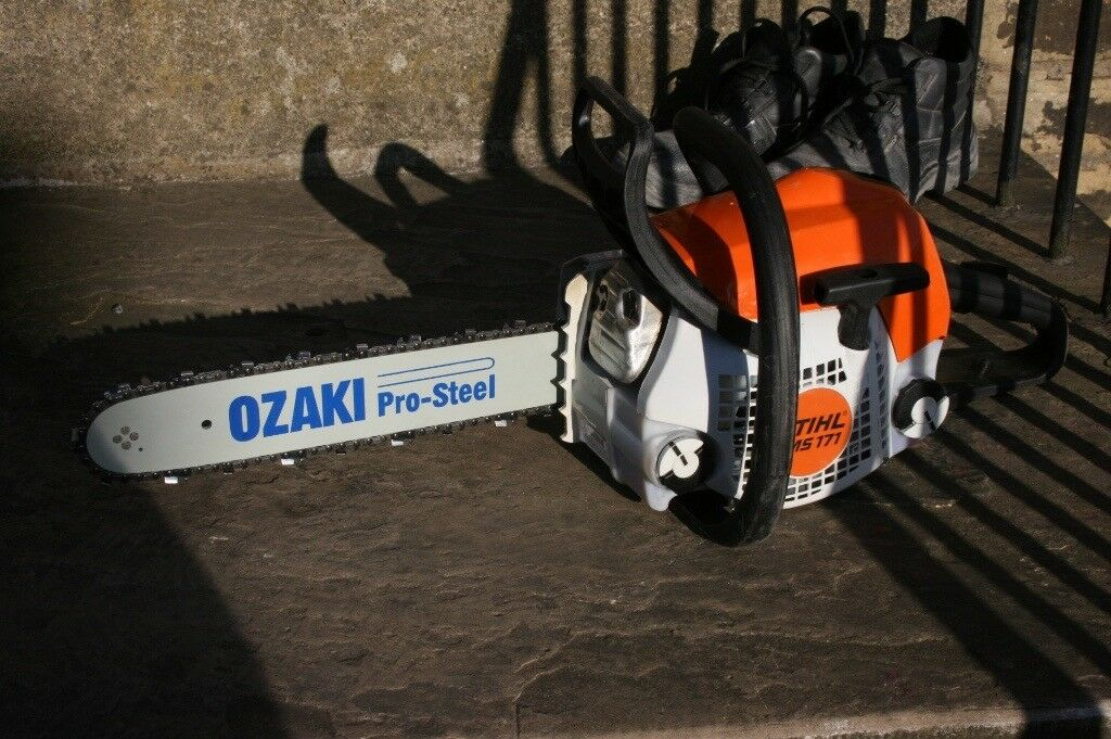 Stihl MS171 2015 petrol chainsaw in mint condition