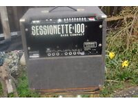 SESSION 100 WATTS COMPACT BASS AMPLIFIER