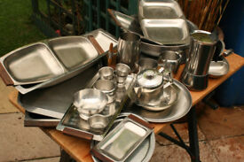 Stainless Steel Kitchen ware, plus Baletti coffee pot