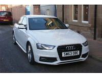 Audi A4 Quattro S-Line TDI Leather interior and exrtas on car