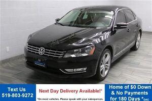 2013 Volkswagen Passat 2.5L HIGHLINE w/ NAVIGATION! PARTIAL LEAT