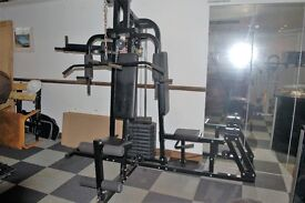 Multi gym Very big heavy duty with punch bag Free local delivery