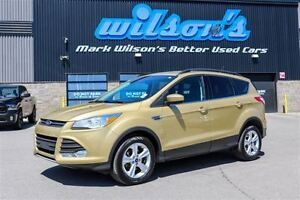 2015 Ford Escape SE $64/WK, 5.49% ZERO DOWN! NEW BRAKES! LEATHER