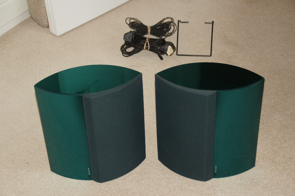 Bang & Olufsen Beolab 4000 Active Speakers in Green (Pair).