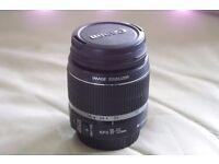 Canon EFS 18 - 55mm lens