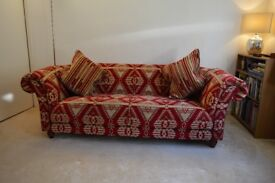 REDUCED!! Large Sofa 3 / 4 seat chesterfield style