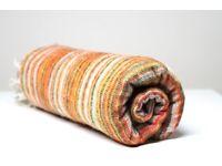 Yak wool blanket/shawl BEIGE