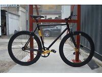 Brand new NOLOGO ALUMINIUM single speed fixed gear fixie bike/ road bike/ bicycles AY