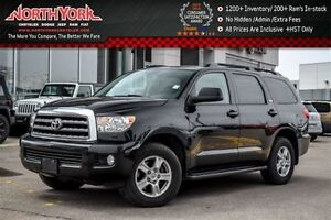 2013 Toyota Sequoia SR5 AWD|7-Seater|DVD Screen|Leather|Tow Hitc