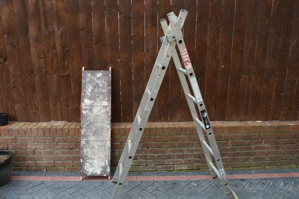 YOUNGMAN PRO-DECK TRADE 5 WAY COMBINATION LADDERS