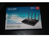 TP-Link AC2600 Dual Band Wireless MU-MIMO Gigabit VDSL/ADSL Modem Router for Phone Line Connections