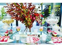 Hire only London Dessert Table Snack Table Candy buffet Wedding Parties Showers