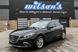 2014 Mazda MAZDA3 GS SKYACTIV! REAR CAMERA! HEATED SEATS! ALLOYS
