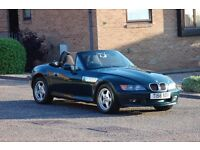 ** BMW Z3 Roadster Convertible .. low mileage and full service history .. stunning condition **