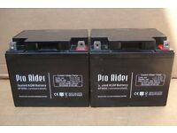 Mobility scooter battery - batteries - Pro Rider 50Ah x 2 (tested)