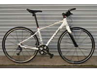 CANNONDALE QUICK 3 hybrid bike, road bike, carbon forks, small size VERY LIGHT, LIKE NEW, CUSTOMIZED