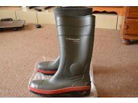 Dunlop Steel Toe Wellies - uk size 10