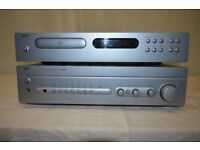 NAD Amplifier C320BEE, and NAD CD Player C521BEE