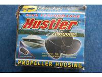 "Hustler H-1421 14"" Aluminium Propellor, use with Honda, Evinrude, Mercruiser etc"