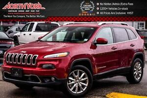 2016 Jeep Cherokee Limited 4x4|SafetyTec,Tech,Luxury,TrailerTow