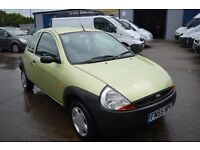 2005 FORD KA DESIGN 1.3 IN GOOD CONDITION Low mileage 60000 MOT UNTIL APRIL 2018