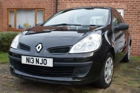 2008 Renault Clio 1.2 Extreme Hatchback Petrol Black, Plate included, Service History, 1 Owner