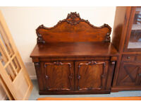 Victorian Chiffonier / Sideboard (? mahogany) for sale