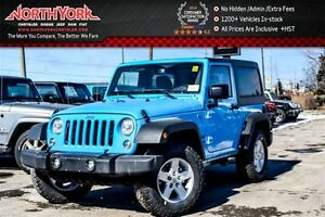 2017 Jeep Wrangler New Car Sport |4x4|Connect,LED,ColdWthrPkgs|R