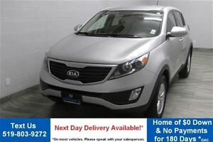 2013 Kia Sportage LX 6-SPEED! HEATED SEATS! ALLOYS! BLUETOOTH! P