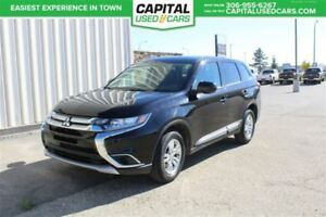 2017 Mitsubishi Outlander ES**AWD**  **BLUETOOTH**  **CRUISE CON