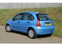 Citroen C3 Sx 1.4 Petrol 75bph Reg.2003 5 Door 6-Mot Tax 5 Speed Manual #BARGAIN