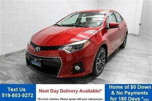 2014 Toyota Corolla S 6-SPEED! REVERSE CAMERA! SUNROOF! LEATHER!