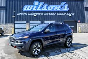 2016 Jeep Cherokee TRAILHAWK 4WD!$95/WEEKLY@5.49% LEATHER! REAR