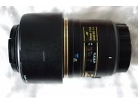 Nikon Fit Tamron SP AF 90mm F2.8 Di Macro lens for AF Like New
