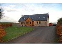 Three bedroom modern detached house on outskirts or Forfar, Angus