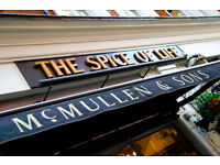 Kitchen Manager - Full Time - Live Out - Up to £30,000 per year - Spice of Life - Soho, London