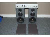 arcam a75 amplifier technics 100w speakers