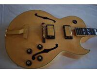 Ibanez Model 2335 electric guitar - Japan - '70s Lawsuit era - Gibson ES-175 homage