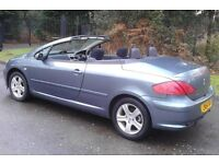 Peugeot 307 Cpe Convertible (54 Plate) New MOT (No Advisories) And Ready To Go, High Specification