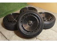 "Genuine ROTA D154 16"" Alloy wheels 5x100 Polo Fabia A3 Beetle Ibiza Golf Bora Stance Celica Alloys"