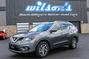 2015 Nissan Rogue SL AWD! LEATHER! NAVIGATION! SUNROOF! 360 REAR
