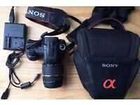 Sony Alpha a200 camera bundle
