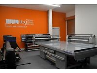Fully Equipped Print Facility