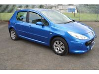 2006 peugeot 307 1.6 petrol new facelift model long mot