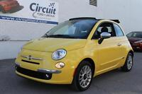 2013 Fiat 500C LOUNGE CONVERTIBLE