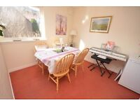 1 bed furnished flat with bright lounge in highly sought after residential area available JUNE